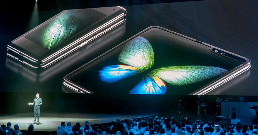 Prvi savitljivi smartfon Samsung Galaxy Fold podiže komunikaciju na viši nivo