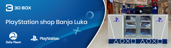 Playstation shop 3D Box Banja Luka