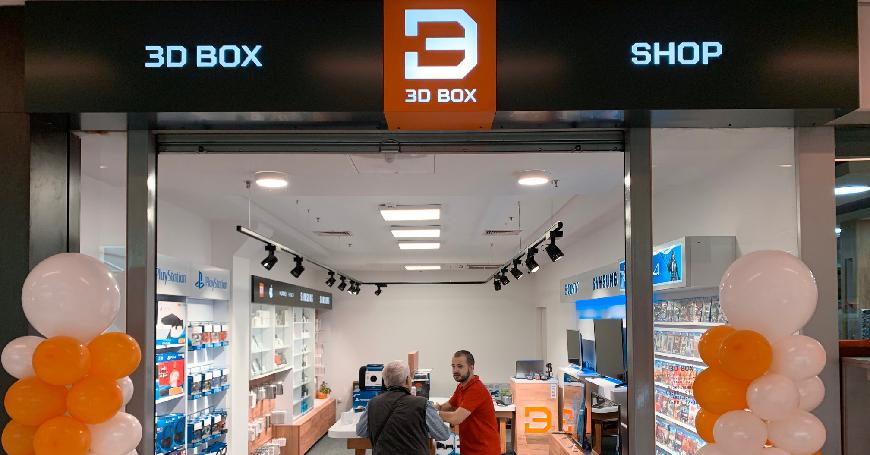 Navratite u preuređeni i ponudom obogaćeni 3D BOX shop u TC Mercator