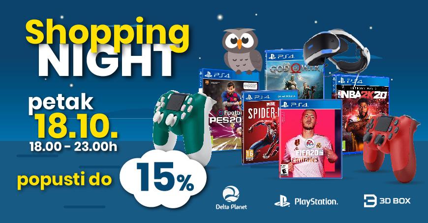Pored sniženih cijena PS4 igara i Samsung dodatne opreme, 3D BOX PlayStation shop nudi i veliki izbor iz cjelokupnog PS4 asortimana
