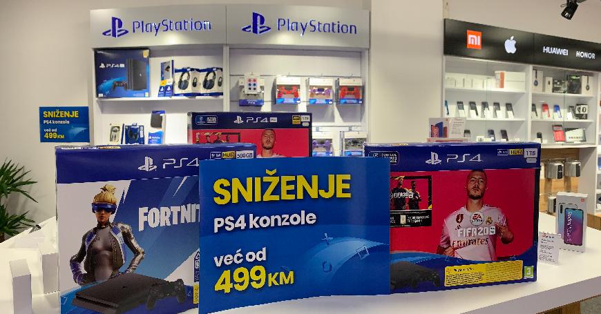 Na svim 3D BOX prodajnim mjestima pronaći ćete veliki izbor PS4 konzola na velikom popustu