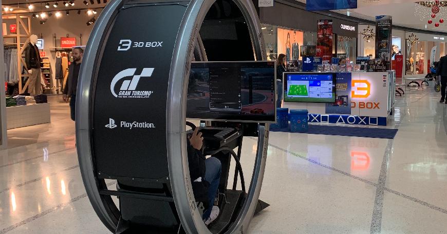 Isprobajte jedini PlayStation Simulator u BiH ekskluzivno u 3D BOX-u