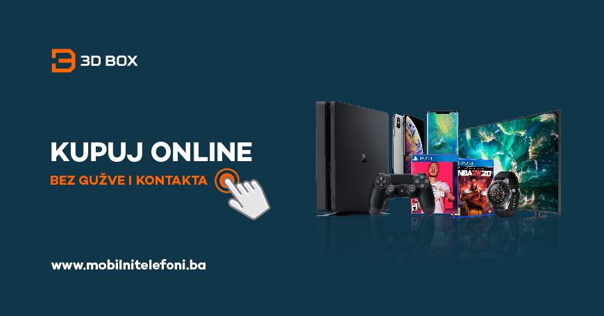 Online kupovina je bezbjedna i jednostavna, što 3D BOX garantuje posjedovanjem međunarodno priznatog SSL sertifikata