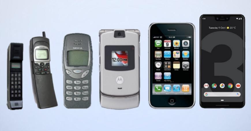 Uspon i pad globalnih brendova telefona od 1993. do 2019. godine (Video)
