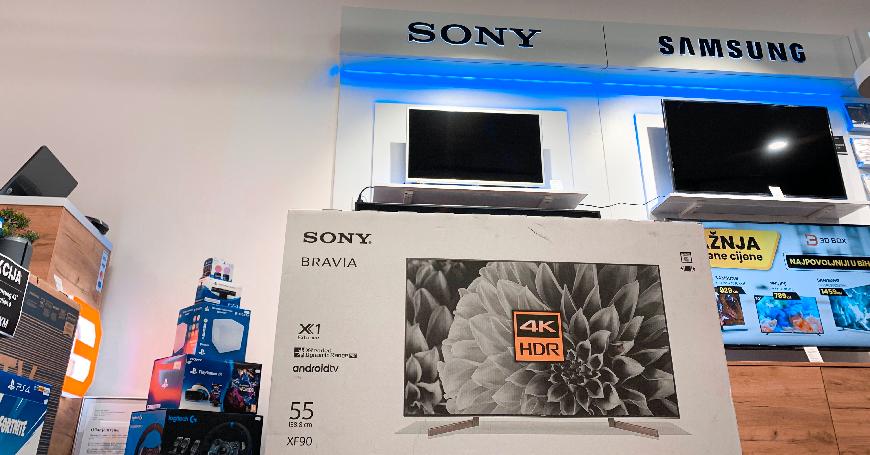 Najpovoljnija online prodaja i brza dostava televizora svjetskih top brendova