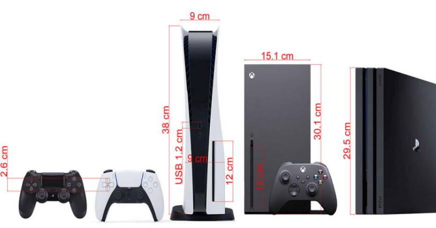 Forumaši na osnovu čitača diskova procijenili da je visina Sony PlayStation 5 konzole oko 38 centimetara