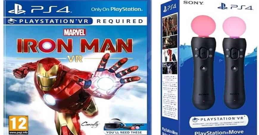 TOP PONUDA Marvel's Iron Man VR + PS Move Twin Pack za samo 199 KM