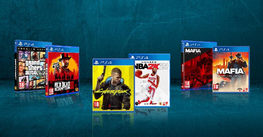 Top naslovi za PS4 konzole od danas na akciji u 3D BOX-u