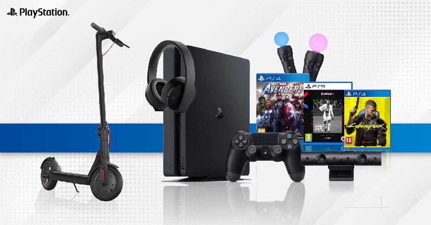 3D BOX U martu kupuj PlayStation proizvode da osvojiš električni skuter