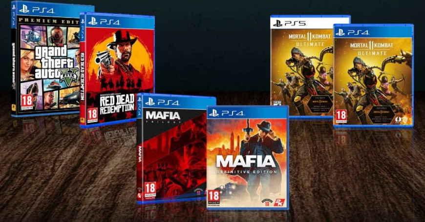 Promotivne cijene PS4 i PS5 naslova izdavača Warner i Take2 u 3D BOX-u