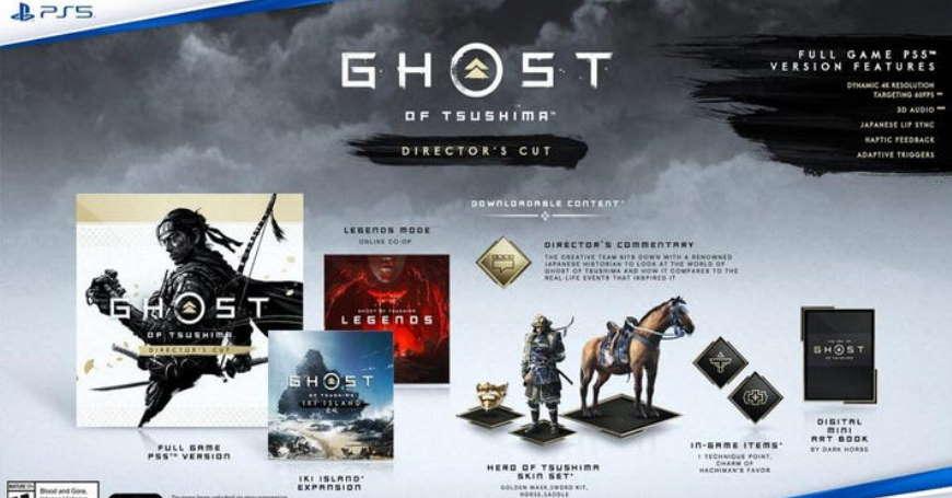 3D BOX U prodaji Ghost of Tsushima Director's Cut PS5 s novom ekspanzijom priče