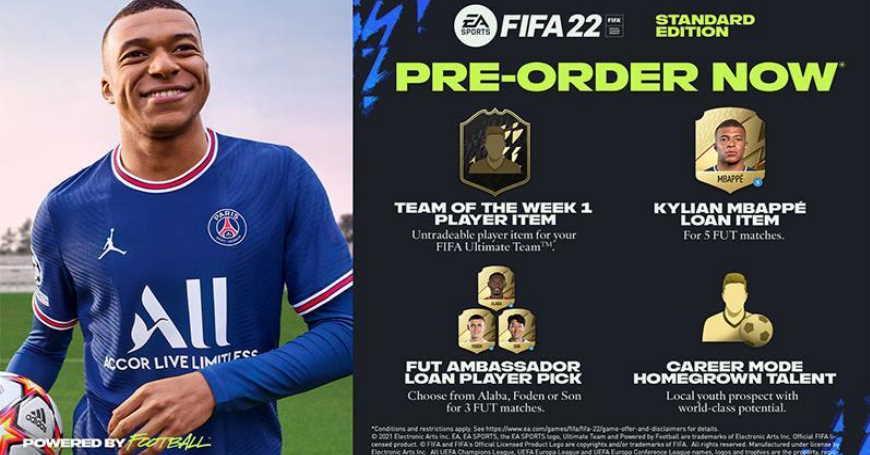 3D BOX Ne propustite posljednje dane PRE-ORDER popusta na FIFA 22