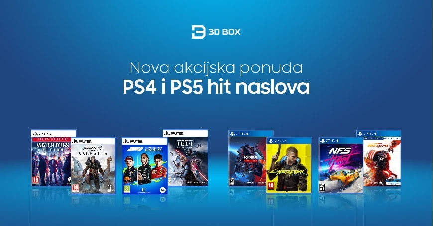 Prva velika jesenja promo akcija hit naslova za PS4 i PS5 konzole